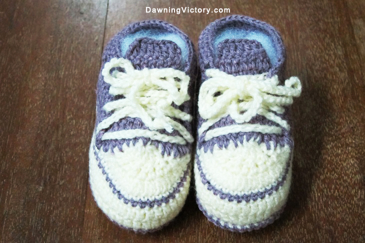 New! Handmade Knitted Soft Baby Sneakers