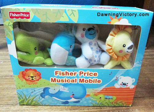 Fisher-Price Crib Mobile with Hanging Toys