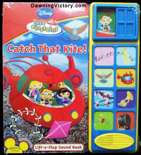 Disney Lift-the-Flap&Sound Board Book Little Einsteins Catch That Kite
