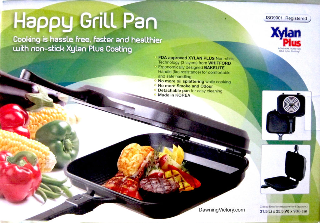 NEW-IN-BOX! AMWAY HAPPY GRILL PAN