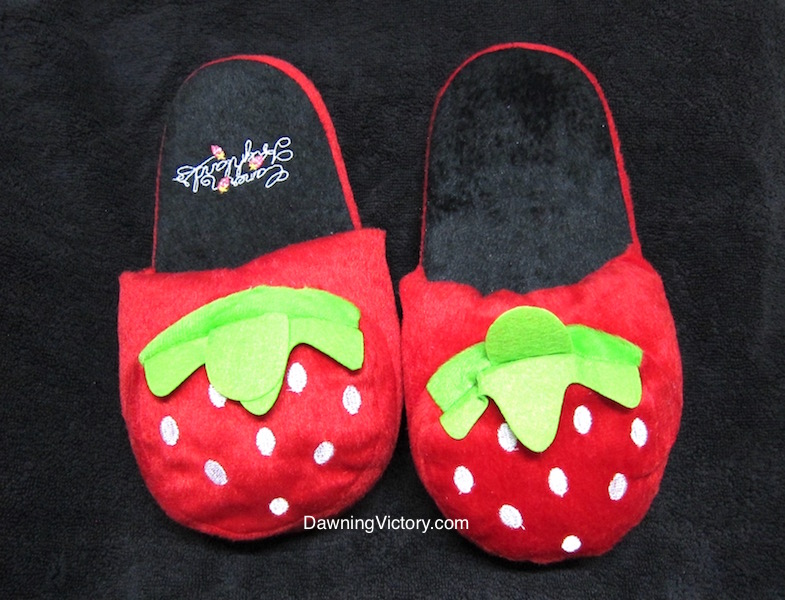 NEW! Cameron Highlands Strawberry Slippers