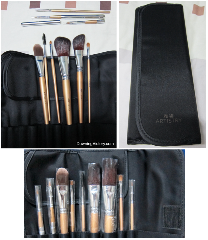 AMWAY Artistry Makeup Brush Set