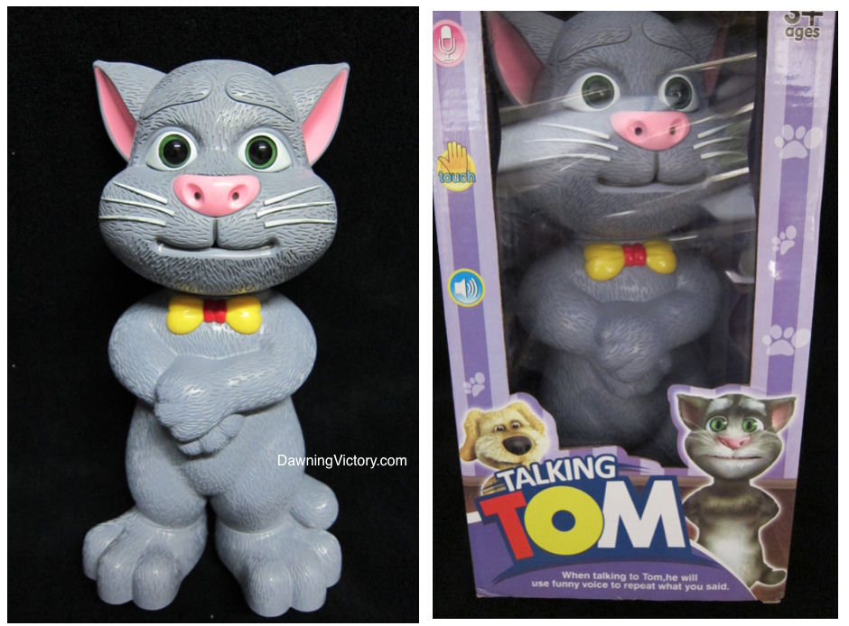 Talking Tom - Educational Toy for Kids