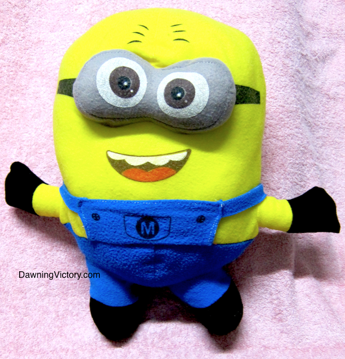 New Despicable Me Minion Large Plush Toy Height 40cm