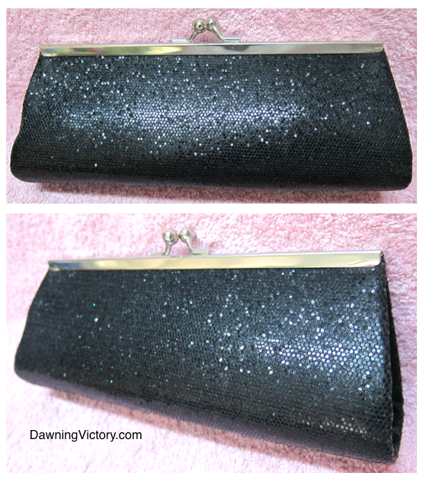 Glittering Sequins Evening Clutch Bag