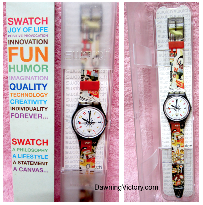 NEW ORIGINAL SWATCH UPPER EAST