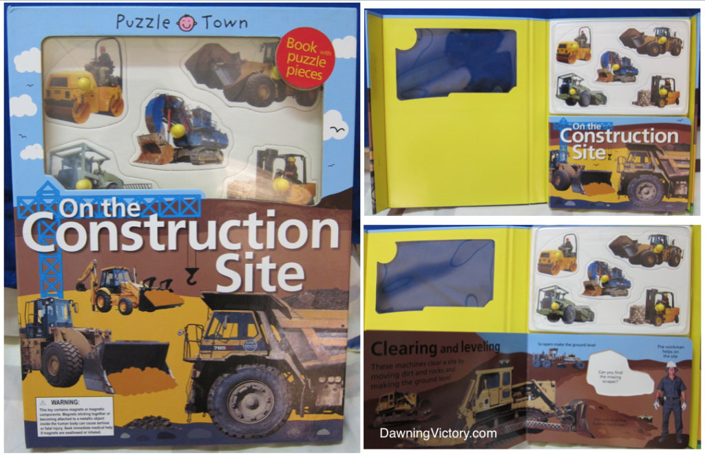 Puzzle Town: On The Construction Site