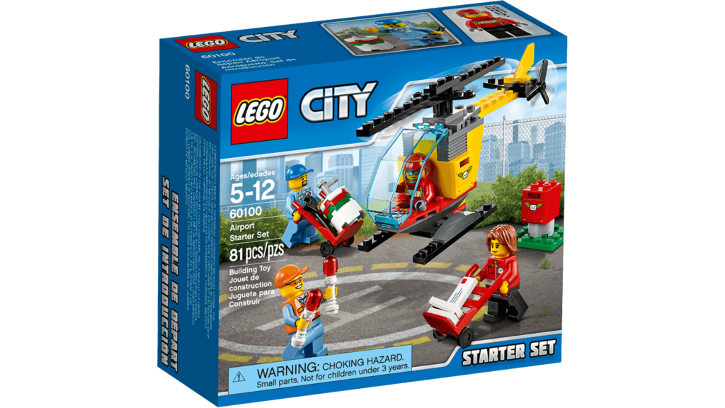 NEW! LEGO CITY 60100 AIRPORT STARTER SET
