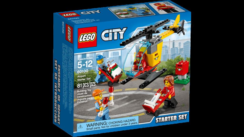 NEW! LEGO CITY 60100 AIRPORT STARTER SET