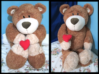 LARGE TEDDY BEAR 31""