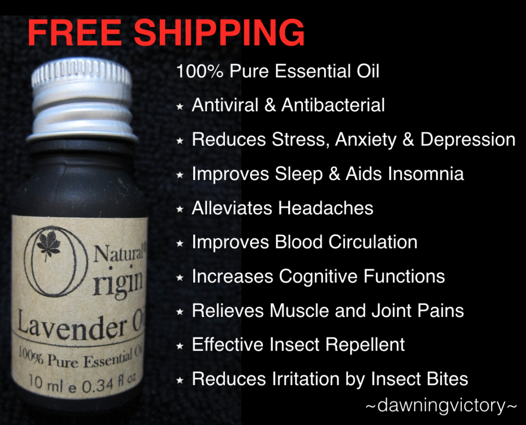 Lavender Essential Oil 10ml ~ Natural Origin 100% Pure Essential Oil