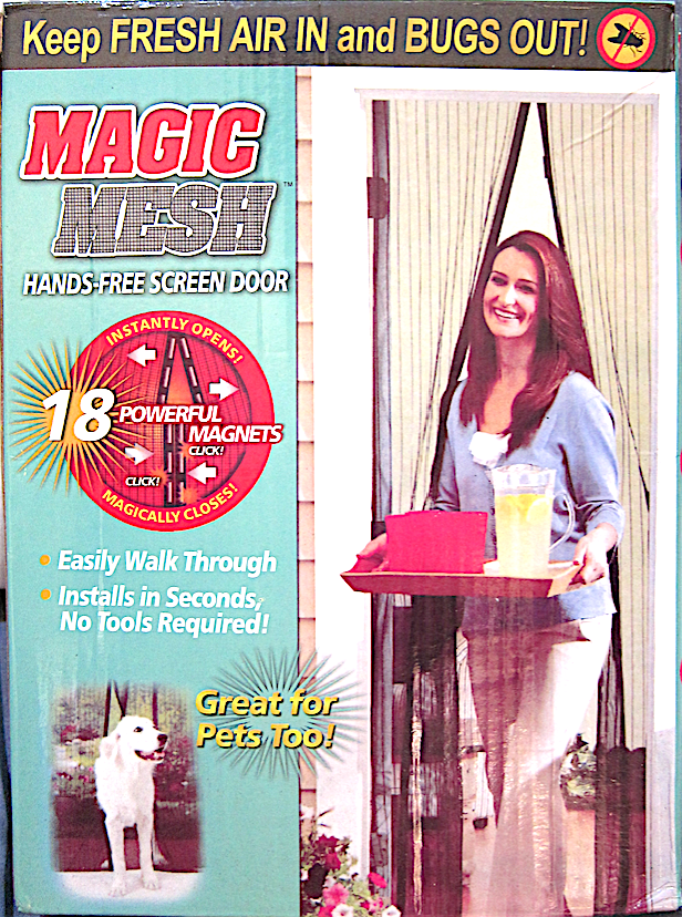 [As Seen On TV] Magic Mesh Hands-Free Screen Door
